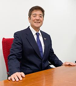 代表取締役社長 田﨑 昭次